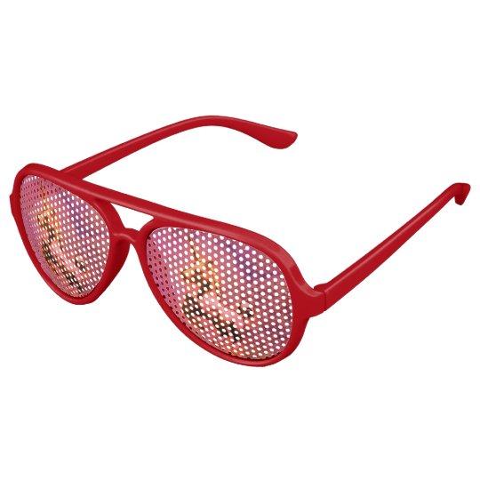 Unicorn Sunglasses Shades (Red Intensity)