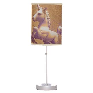 Unicorn Table Lamp Light (Metal Lavender)