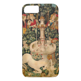 Unicorn Tapestries Medieval Art iPhone 8/7 Case