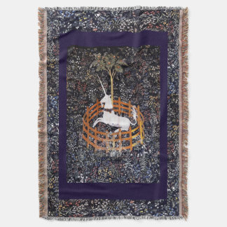 Unicorn Tapestry #7 Throw Blanket