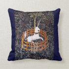 Unicorn Tapestry #7 Throw Pillow
