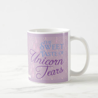 Unicorn Tears Lace Coffee Mug