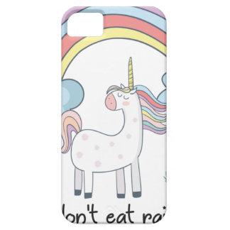Unicorn tee shirt iPhone 5 case
