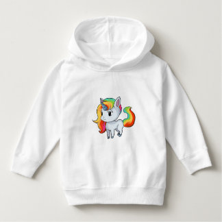 Unicorn Toddler Pullover Hoodie