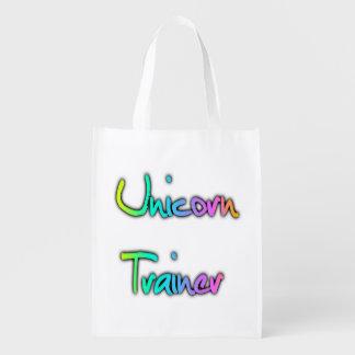 Unicorn Trainer Rainbow Market Totes