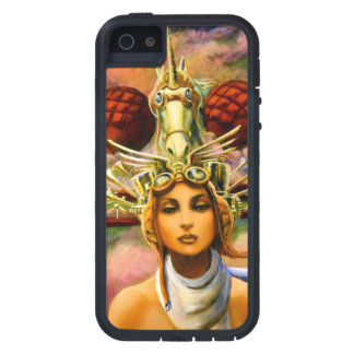 Unicorn Traveling Headgear Case For iPhone 5