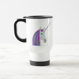 Unicorn tumbler travel mug