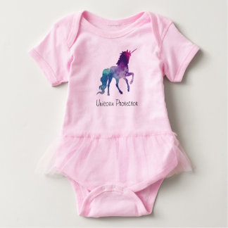 Unicorn tut tut baby grow baby bodysuit