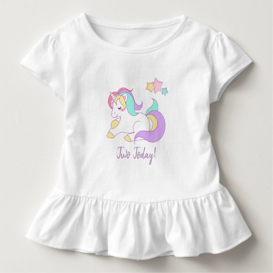 Unicorn two today t-shirt