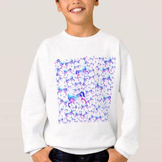 Unicorn Universe Pattern Sweatshirt