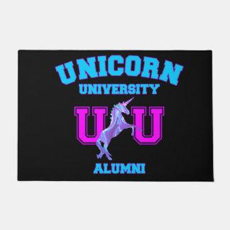 Unicorn University Doormat