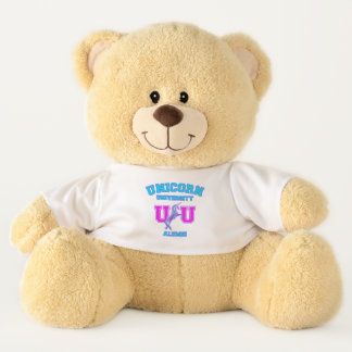 Unicorn University Teddy Bear