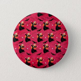 Unicorn Vampire 2 Inch Round Button