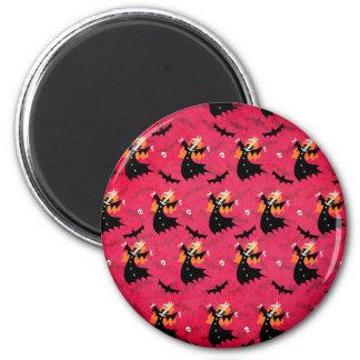 Unicorn Vampire 2 Inch Round Magnet