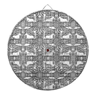 Unicorn Victorian Lace Dartboard