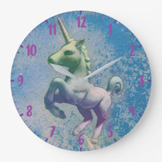 Unicorn Wall Clock | Blue Arctic