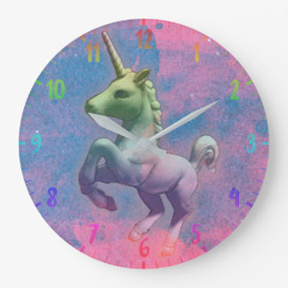 Unicorn Wall Clock | Cupcake Pink