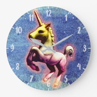 Unicorn Wall Clock | Galaxy Shimmer