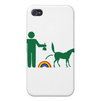 Unicorn Waste (Image Only) iPhone 4 Cover