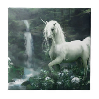 Unicorn Waterfall Tile
