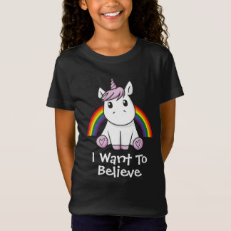 Unicorn (with editable text) Illustration T-Shirt
