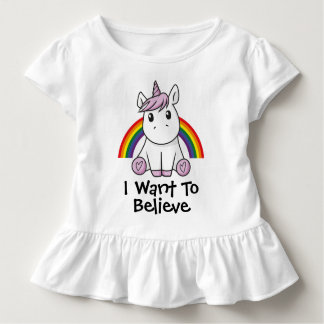 Unicorn (with editable text) Illustration Toddler T-shirt