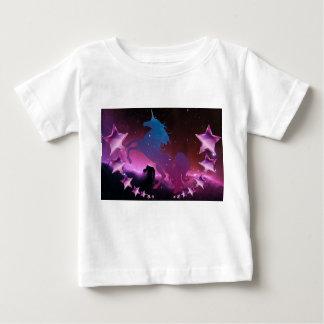 Unicorn with stars baby T-Shirt