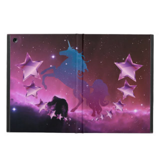 Unicorn with stars cover for iPad air