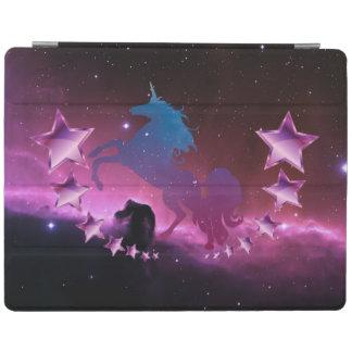 Unicorn with stars iPad cover