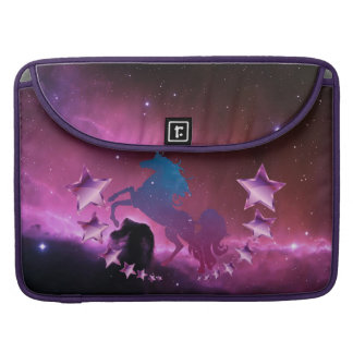 Unicorn with stars sleeve for MacBook pro