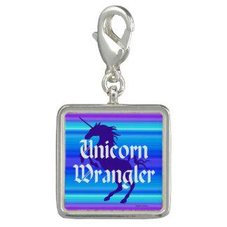 """Unicorn Wrangler"" Charm"