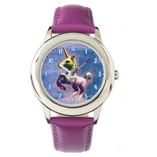 Unicorn Wrist Watch | Burnt Blue