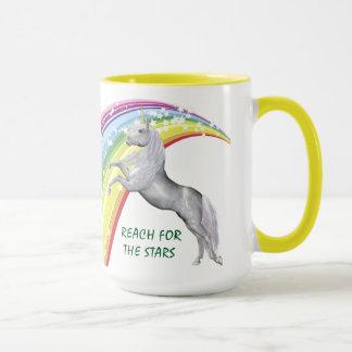 Unicorn Yellow 15 oz Combo Mug
