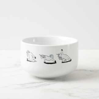 Unicorn Yoga Soup Mug