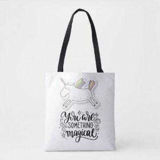 Unicorn You're Something Magical Tote Bag