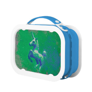 Unicorn Yubo Lunchbox (Glowing Emerald)