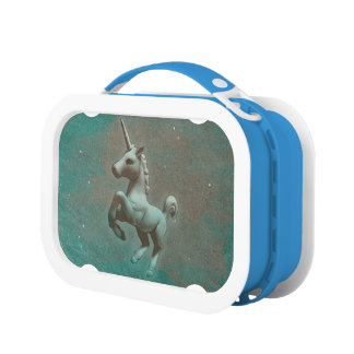 Unicorn Yubo Lunchbox (Teal Steel)