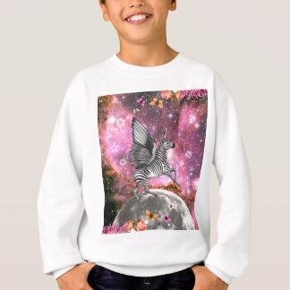 Unicorn Zebra Pegasus Sweatshirt