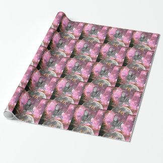Unicorn Zebra Pegasus Wrapping Paper