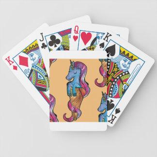 unicornio ice cream bicycle playing cards