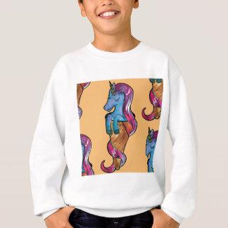 unicornio ice cream sweatshirt