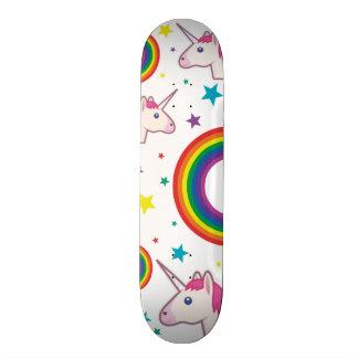 Unicórnio Skate Emoji Skateboards