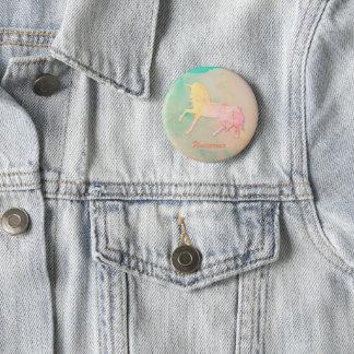 Unicornios obsession 2 inch round button
