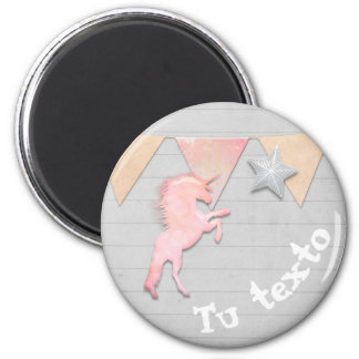 Unicornios obsession magnet