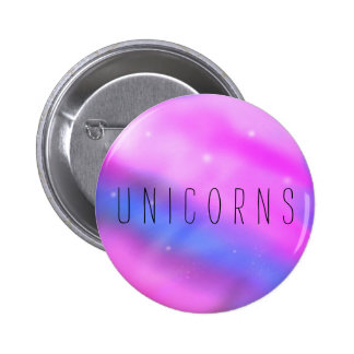 UNICORNS 2 INCH ROUND BUTTON