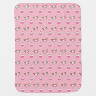 Unicorns and Cupcakes Girls Blanket