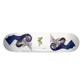 Unicorns and Dragons Skateboard