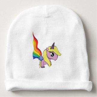 Unicorns and Rainbows Baby Beanie