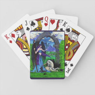 Unicorns, Angels, Dragons and More Playing Cards