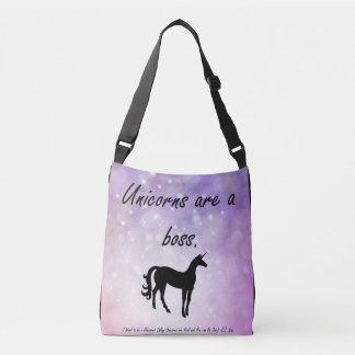 Unicorns are a Boss Tote bag